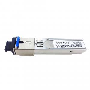 China SC BiDi SFP Fiber Transceiver For  FTTH GPON OLT , 3.3v Power Supply on sale