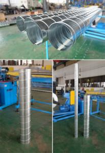 China spiral duct making machine for round pipe manufacturing on sale