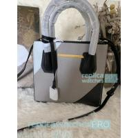 China New Knockoff Michael Kors Mercer Grey Genuine Leather Women's Bag on sale