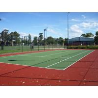 China Supply Install Guide Indoor Tennis Court Surface Light Blue Color on sale