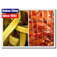 China 48mm Wide Seat Belt Webbing Replacement , Seat Belt Strap High Strength on sale