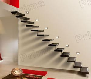 Quality Cantilevered Staircase Construction Floating Stairs Price For Sale