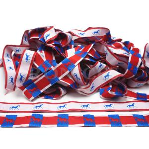 China Wholesale 5mm-75mm Woven Tape Colorful Grosgrain Ribbon for Gift/Flower Wrap on sale