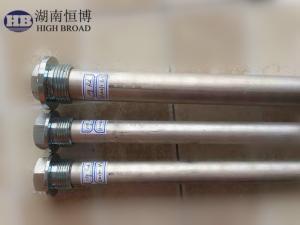 China Reemplazo del ánodo del calentador de agua de los ánodos del magnesio con los diámetros que se extienden a partir de la 0,500 a 2,562 con los casquillos del acero inoxidable on sale