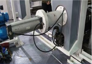 China ELS rotogravure printing machine manufacturer electric drying tube 300m/min 750mm unwind/rewind 3-50kgf servo motor on sale