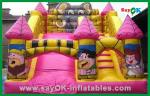 Durable Air Blower Trampoline Inflatable Bounce / Inflatable Slide