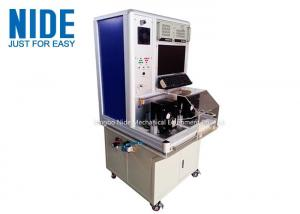 China DOS system Motor Testing Equipment / Machinery Armature Testing Panel on sale