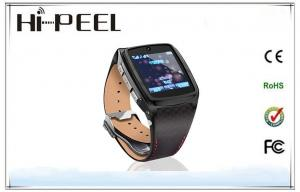 China Quad Band GSM Wrist Watch Phone Luxury Business Gift Watch With Bluetooth SIM Card on sale