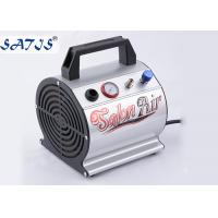 Small Mini Air Compressor For Airbrushing Auto Start / Stop Fuction For 0.2-0.5mm Nozzle