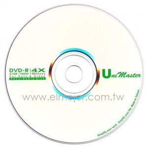 China DVD-R 4X amincissent le disque enregistrable de DVD on sale