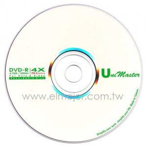 China DVD-R 4X amincissent le disque enregistrable de DVD on sale