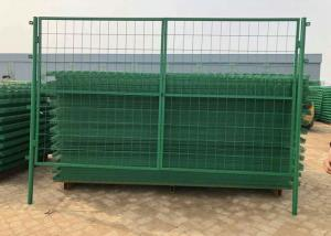 China Green Pvc Coated Welded Wire Mesh Fence For Parks / Zoos / Nature Reserves on sale