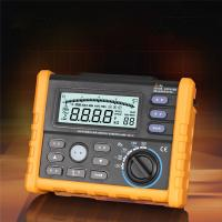 China Analog display Digital earth resistance meter 2 / 3 pole for electric on sale