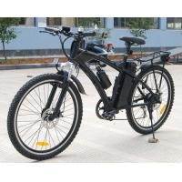 China Lithium 36V 10Ah Battery Adult Electric Moped Bike With 250w Brush Engine on sale