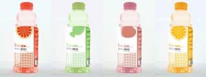 China Envoltório plástico em torno das etiquetas para garrafas de água, impressão do filme de estiramento da segurança PETG de 9 cores on sale