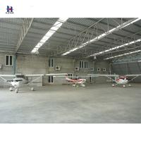 China Prefabricated Steel Aircraft Hangars For Storing Airplanes And Equipment on sale