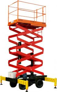 China Mobile Elevated Work Platform Aluminum And Explosion Proof Type on sale