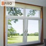 Double Safety Tilt And Open Windows , Aluminum Tilt And Turn Windows
