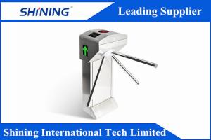 China AC 220V/110V Auto Drop Arm Turnstiles For Pedestrian Limiting Security Control on sale
