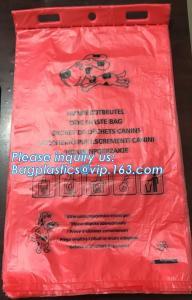 China Earth-Friendly Dog Waste Bag Poop Bags Custom Printed Wholesale Biodegradable Pet Dog Poop Bag, BAGPLASTICS, BAGEASE, PA on sale