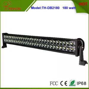 China 31.5 inch 180W 9V~60V DC Waterproof LED Light Bar for Offroad and mining vehicles on sale