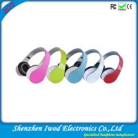 China Hottest Chrismas promotion gift colorful stereo headphone for mp3 mp4 mobile phone on sale