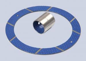 China Lead - Free POM Boundary Lubricating Bearings DX Bushing , Blue Thrust washer on sale
