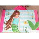 as toalhas encapuçados de pouco peso do poncho de 60*120cm para as crianças fáceis secam
