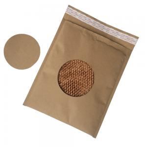 China All Paper Biodegradable Custom Printed Envelopes Easy Recycle Mailing Bag Durable on sale