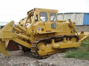 China Heavy Equipment Old Caterpillar Dozers D8K Bulldozer 26 Track Pads Oil Cooler on sale