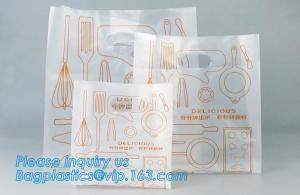 China Meal Prep bags, fast food bags, food delivery bags, carry carrier bags, bakery bags, die cut handle bags,pizza bags, pac on sale