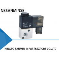 High Speed Pneumatic Solenoid Valve , 3 2 Pneumatic Valve Sanmin 3V1 Series