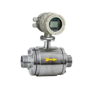 China Thread Type Electromagnetic Flow Meter High Performance for beer on sale