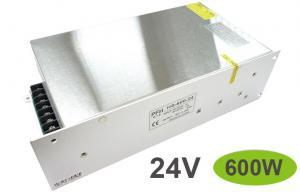 China White 600W Aluminum led light strip ac adapter , AC 220V to DC 24V on sale