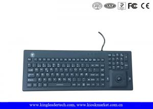 Quality Norway Layout Silicone Waterproof Keyboard With Trackball And Customizable Layout for sale