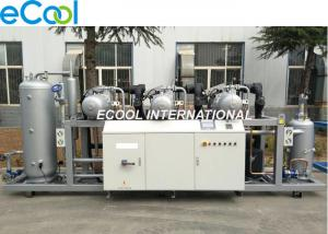 China 375HP High Temperature Screw Refrigeration  Unit With Three 125 HP Compressors on sale