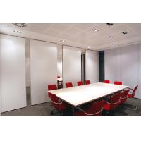 Sliding Office Partition Walls / Decorative Conference Room Dividers