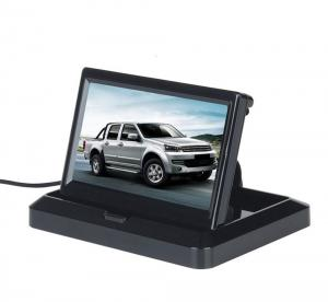 China 5'' Foldable Car Rear View Monitor Compact Structure Easy Installation on sale