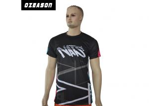 China Quickly Dry Sports Jersey T ShirtsMesh Dri Fit Fabirc Moisture Wicking For Boys on sale