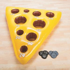 China Inflatable Mouse and Cheese Toss Game,festival games on sale