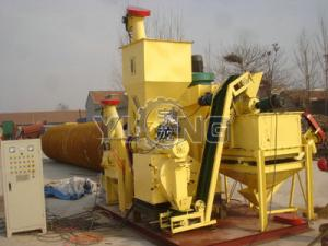 China 1ton/h Poultry feed pellet making line animal feed pellet machine on sale