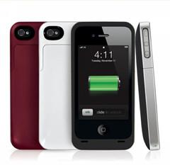 China 2000mAh Lithium-ion Polymer External Backup Mophie Battery Plus for iphone on sale