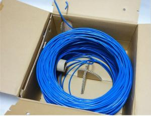 China CAT5e High Performance Lan Network Cable UTP , F-UTP , FTP 0.49mm - 0.585mm Conductor on sale