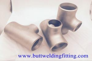 China Butt Weld Fittings 2''x1-1/2'' SCH10S Copper Nickel 90/10 ASME B16.9 Concentric Tee on sale