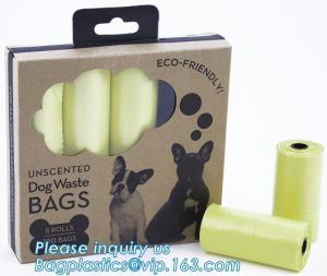 China Biodegradable Pet Waste Bag for Dog Poop, Pet Product Biodegradable Dog Waste Bag/ Dog Poop Bag with Dispenser, bagease on sale