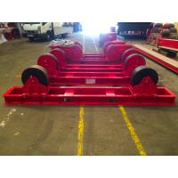 Economic  Standing Capacity 30 Tons Tanks Welding Rotator Use Polyurethane Material Wheels Export to Mexico