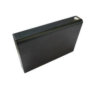 China Electronic Aluminum Alloy Profile , Item Aluminium Profile Sand Blasted Black on sale