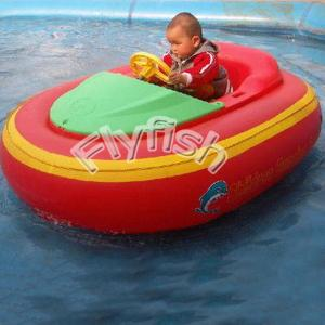 China inflatable battery powered boat on sale