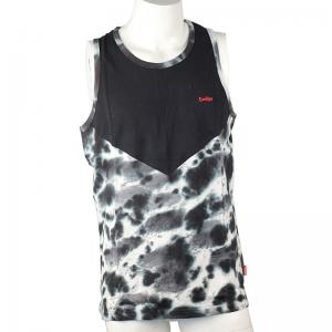 China Not Deformed Pure Cotton T Shirts , Durable Mens Cotton Sleeveless Shirts on sale