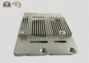 China Silver anodizing Customized Precision CNC Machining Aluminium Heat sinks pressed with M6 Thread Rivets on sale
